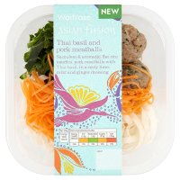 Waitrose Asian fusion Thai basil pork meatballs