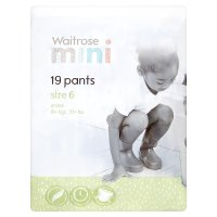 Waitrose Mini Pants Size6