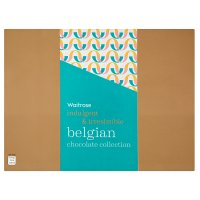 Waitrose Indulgent & Irresistible Dark, Milk & White Belgian Chocolate Collection