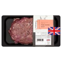 Waitrose 1 Hereford Fine Diced Beef