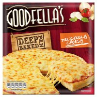 Goodfella's deep pan baked deliciously cheesy