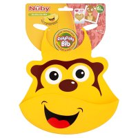 Nuby Rolypoly On-The-Go-Bib