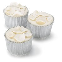 Fiona Cairns Ivory Rose Petal Cupcakes