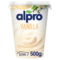 Alpro Soya vanilla plant-based alternative to yogurt
