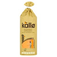 Kallo buckwheat super-seed multigrain cakes