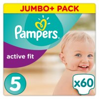 Pampers Jumbo Pack Active Fit Junior