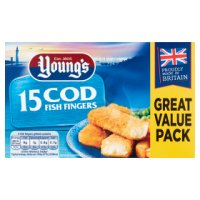 Young's 20 Cod Fish Fingers