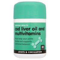 Everyday Health cod liver oil & multivitamins