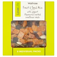 Waitrose LoveLife Fruit & Seed Mix with Yogurt