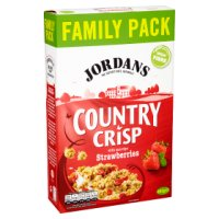 Jordans country crisp with strawberries