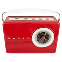 Waitrose Retro Radio Tin Mini Biscuits