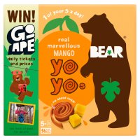 Bear for kids 100% fruit mango yo yos