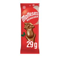 Merryteaser Reindeer milk chocolate single