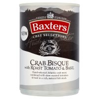 Baxters Chef Selections Crab Bisque