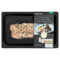 Waitrose Scottish Salmon Fillets with Tarragon Mayonnaise