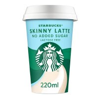 Starbucks Discoveries skinny latte