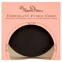 Maison Blanc chocolate fudge cake
