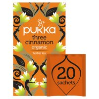 Pukka three cinnamon 20 tea sachets