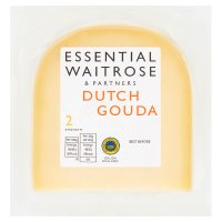 essential Waitrose Dutch mild gouda cheese, strength 2