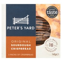 Peter's Yard crispbread original