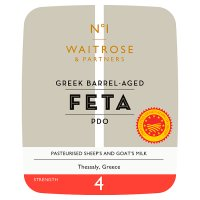 Waitrose 1 Greek barrel aged feta cheese PDO