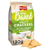 Walkers Melty Crackers Sour Cream & Onion