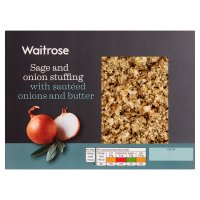 Waitrose sage & onion stuffing