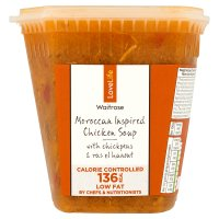 Waitrose LoveLife Moroccan chicken soup