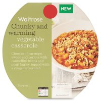 Waitrose vegetable casserole