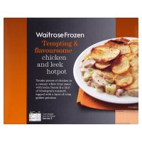 Waitrose Frozen chicken & leek hotpot