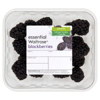 essential Waitrose British blackberries