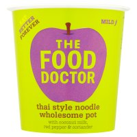The Food Doctor Thai Style Noodle Wholesome pot