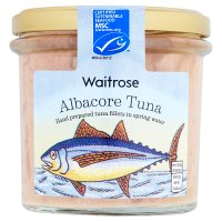 Waitrose MSC albacore tuna in spring water