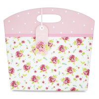 Waitrose vintage rose gift bag