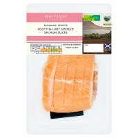 Waitrose kiln roasted Scottish salmon slices