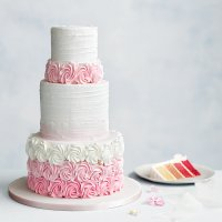 Pink Ombre 3 Tier