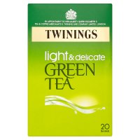 Twinings green tea pure 20 tea bags