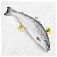 Entertaining Fresh Whole Scottish Salmon (Medium)