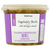Waitrose LoveLife Vegetable Broth