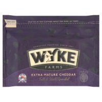 Wyke Farms Just Delicious extra mature cheddar