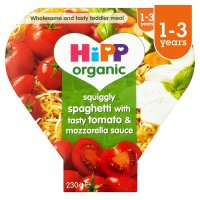 Hipp organic growing up meal spaghetti with sauce