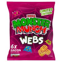 Mega Monster Munch Bacon Webs