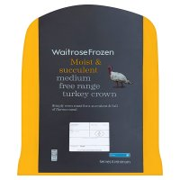 Waitrose Frozen free range turkey crown