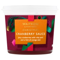 Waitrose cranberry & port sauce