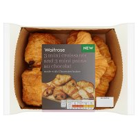 Waitrose Mini Croissants and Pains Au Chocolat