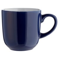 essential Waitrose navy mug