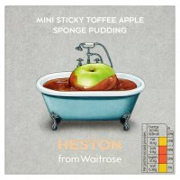 Heston from Waitrose Mini Sticky Toffee Apple Sponge Pudding