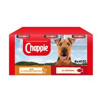 Chappie favourites chicken & rice and original