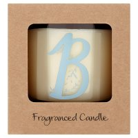 Waitrose Alphabet B Coconut & Sandalwood Candle