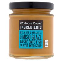 Waitrose Cooks' Ingredients white miso glaze
